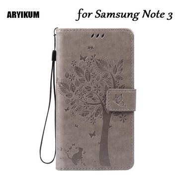 ARYIKUM TelePhone Cases Flip Cover Coque For Samsung Note 3 Case For Samsung Galaxy Note 3 III For Samsung N9000 N9005 SM-N9005