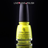 China Glaze Daisy Know My Name? Nail Polish (Electric Nights Collection)