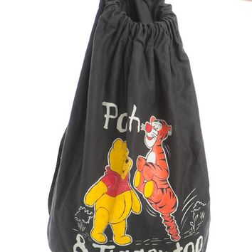 Vintage 90's Pooh & Tigger Backpack