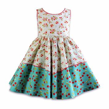 The Little BakeShop Twirly Dolores Park Dress