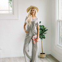 Seeing Stripes Jumpsuit