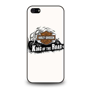 HARLEY DAVIDSON KING OF ROAD iPhone 5 / 5S / SE Case Cover