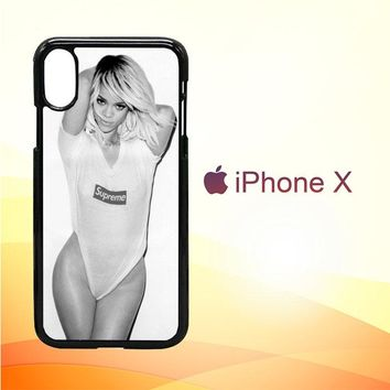 Rihanna Supreme L1974 iPhone X Case