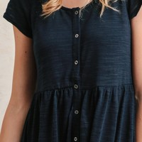 New Haven Button-Up Dress