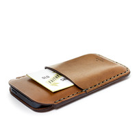 MAKR Saddle Tan iPhone 5 / Card Sleeve