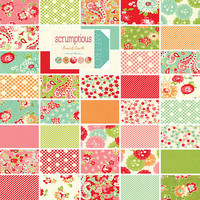 "Scrumptious 5"" Charm Pack by Bonnie and Camille for Moda Fabrics"