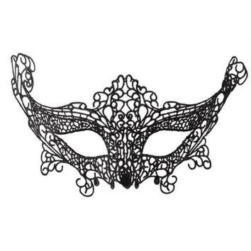 Sexy Lace Eye Mask Women/Girls Evening Party/Prom/Masquerade Mask Halloween-374