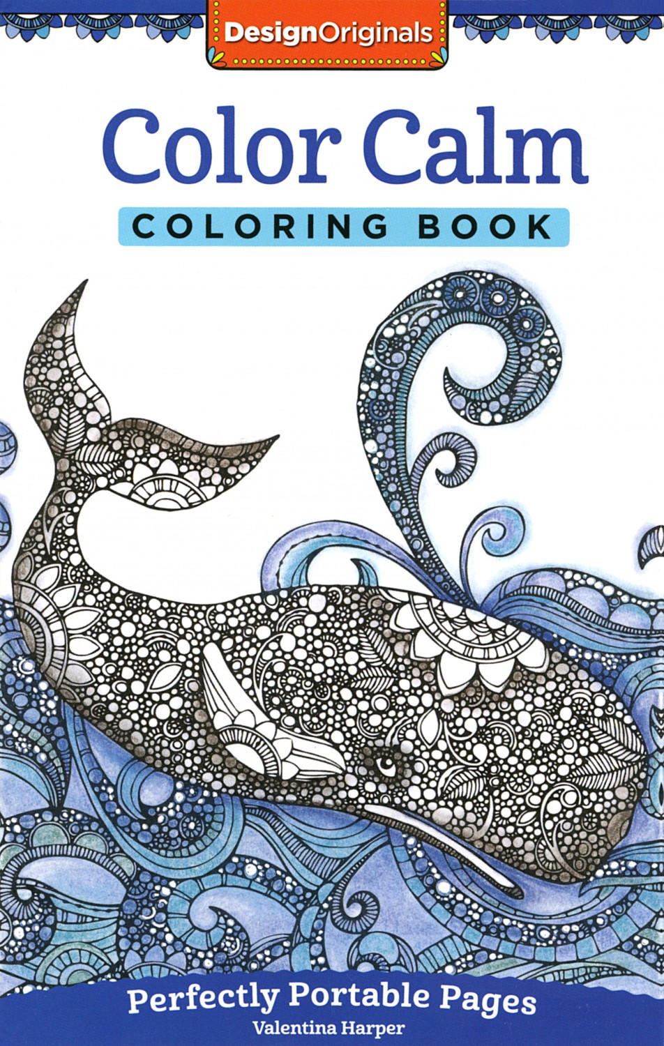 Design Originals Color Calm Perfectly Portable Coloring And Activity Book By Valentina Harper Full Size