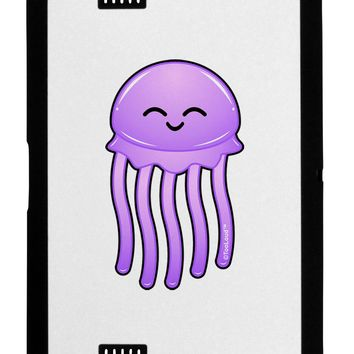 Cute Jellyfish Black Jazz Kindle Fire HD Cover by TooLoud