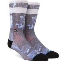 Stance Chop Hop Crew Socks - Mens Socks - Blue - One