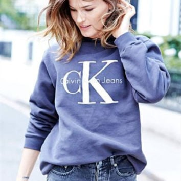 Winter Women's Fashion Hot Sale Sexy Alphabet Print Casual Hoodies [9522168772]