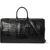 Santiago Gonzalez - Crocodile Holdall Bag | MR PORTER