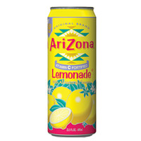 Arizona Tea Lemonade 23 Oz Big Cans Pack of 24