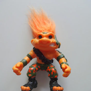 Vintage Hasbro Battle Troll Action Figure 1992
