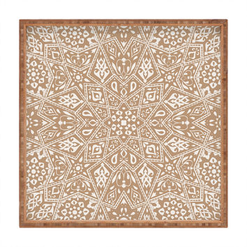 Aimee St Hill Amirah Neutral Square Tray