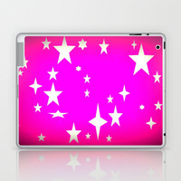 Hot Pink Atomic Star Laptop & iPad Skin by 2sweet4words Designs | Society6