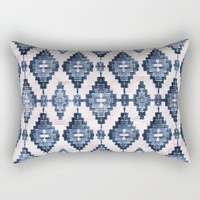 BOHOCHIC TRIBALISM Rectangular Pillow by Nika