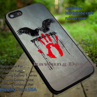 Supernatural Castiel Hand and Wings iPhone 6s 6 6s+ 5c 5s Cases Samsung Galaxy s5 s6 Edge+ NOTE 5 4 3 #movie #supernatural #superwholock #sherlock #doctorWho dt