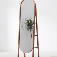 Woodlyn Standing Storage Mirror | Urban Outfitters