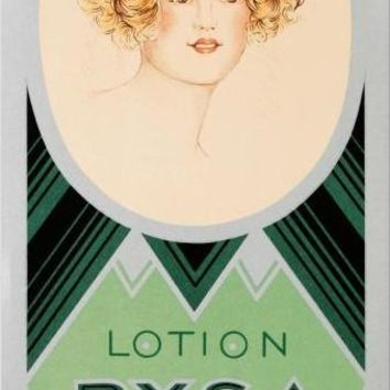 Rimmel-Lotion Rysa - Limited Edition Hand Pulled Lithograph on Paper by the RE Society