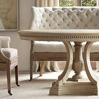 St. James Round Dining Table | Restoration Hardware