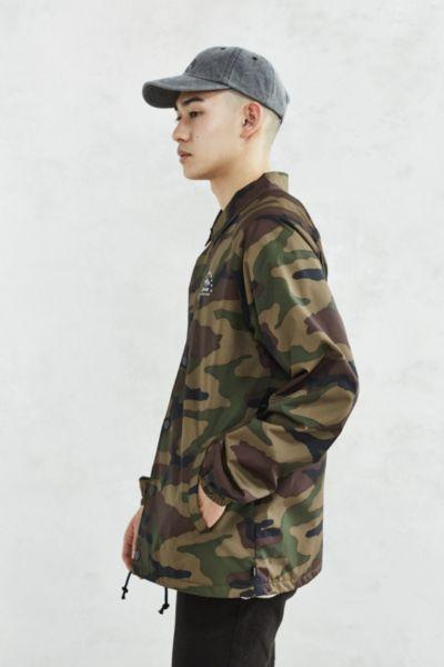 14aac1c343e Vans Torrey Camo Coaches Jacket from Urban Outfitters