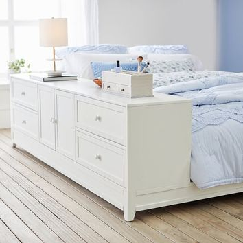 Ultimate Platform Bed + Drawer/ Cabinet Set