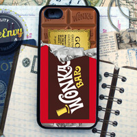 Willy Wonka Golden Ticket Inspired iPhone 5 case
