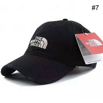 DCCKR2 THE NORTH FACE Men s & Women s Outdoor Couples Three-dimensional Embroidered Visor F-XMCP-YC #7