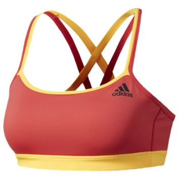 adidas Crisscross Strappy Bra - Women's at Lady Foot Locker