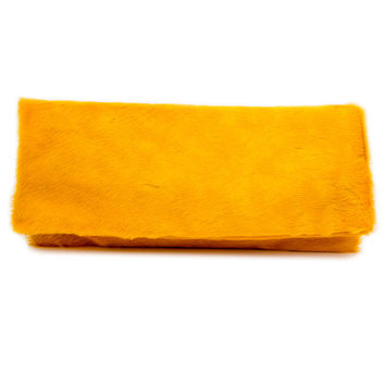 Allison Mitchell Marigold Pony Hair Clutch