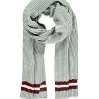 Varsity-Striped Scarf