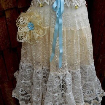 Lace Flapper Dress by LaBelleFairy on Etsy