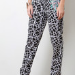 Embroidery Palms Graphic Trouser