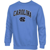 North Carolina Tar Heels :UNC: Basic Crew Neck Sweatshirt - Carolina Blue