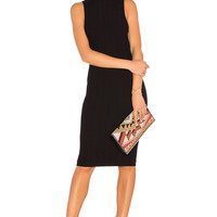 BCBGeneration Blocked Seamless Dress in Black | REVOLVE