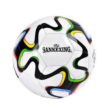SANKEXING PU Soccer Ball Official Size 5 Football Balls Goal League Outdoor Sport Professional Match Train Ball Russia World Cup