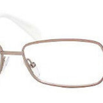 NEW AUTHENTIC GIORGIO ARMANI GA797 COL 62K SAND LIGHT GOLD METAL EYEGLASSES
