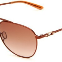 Oakley Womens Daisy Chain OO4062-02 Oval Sunglasses,Brunette Frame/Dark Brown Gradient Lens,one size