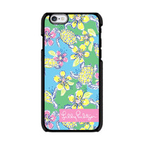 New Lilly Pulitzer Moving Slowly Print On Hard Case For iPhone 6s 6s plus