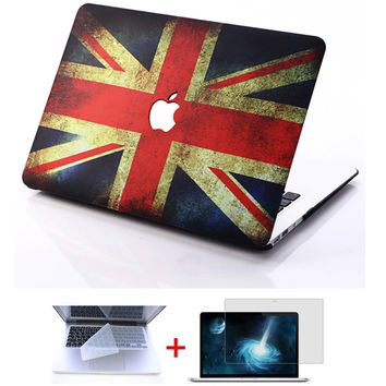 Ctrinews laptop Case For Macbook Air 11 13 / Pro 13 15 / Pro Retina 12 13 15 inch Protector For Macbook pro case With LOGO