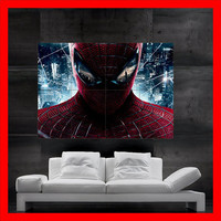 the amazing SPIDERMAN marvel poster art oil Painting print 8 parts Poster Big Huge House hulk avengers avangers