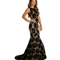 Lisa-Black Prom Dress