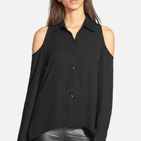 Women's Glamorous Cold Shoulder Blouse