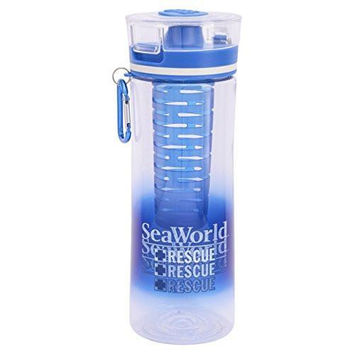 SeaWorld Rescue Flavor Infuser Plastic Bottle New