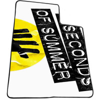 5sos Logo for Kids Blanket, Fleece Blanket Cute and Awesome Blanket for your bedding, Blanket fleece *AD*