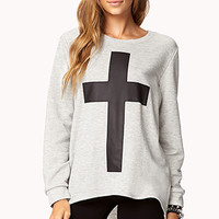 High-Low Cross Top