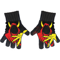 Insane Clown Posse Knit Gloves Black
