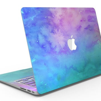 Washed Dyed Absorbed Watercolor Texture - MacBook Air Skin Kit