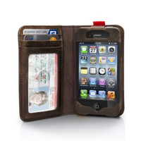 Vintage Leather iPhone creative case and Wallet